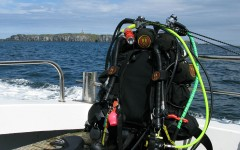 DiveStay Diving Across the Firth of Forth
